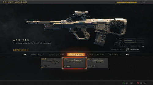 Call Of Duty Black Ops 4 Every Weapon In Multiplayer Digital