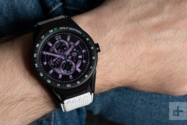 tag heuer connected modular 45 golf edition 10