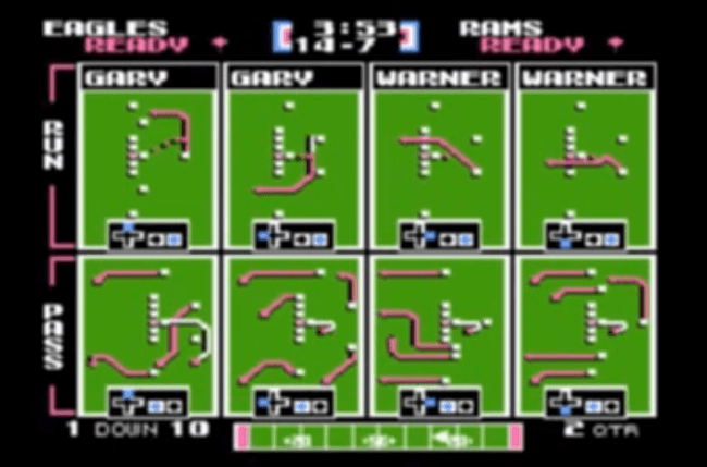 best nes games ever tecmo bowl screen 2