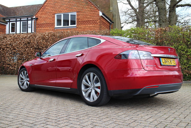 abnormally normal driving the tesla model s p90d 1400