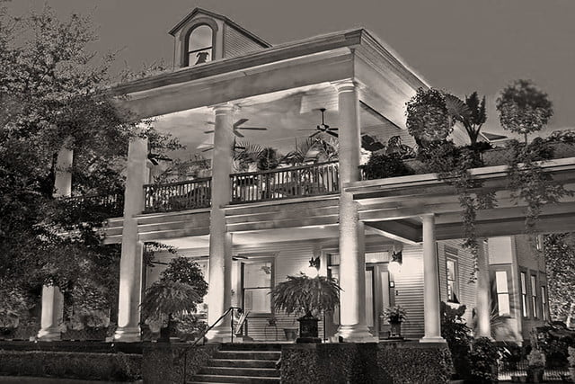 haunted houses places in america the galloway house inn