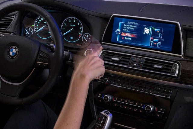 new bmw idrive features touchscreen and gesture recognition the next generation of 16