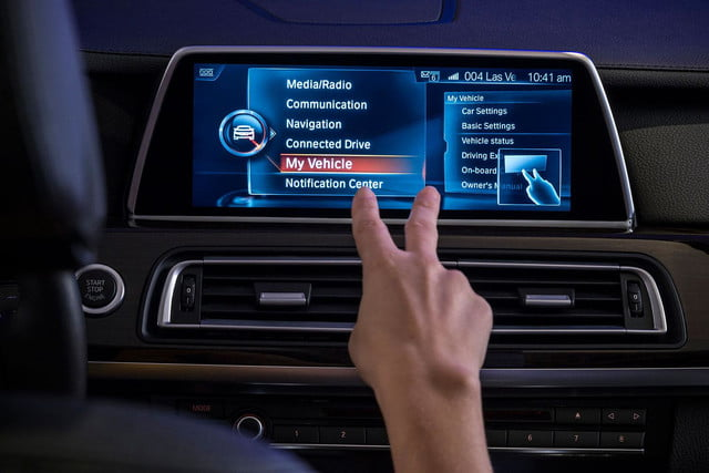 new bmw idrive features touchscreen and gesture recognition the next generation of 7
