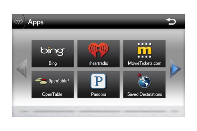 toyota entune apps