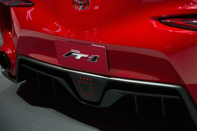Toyota FT 1 rear lights macro