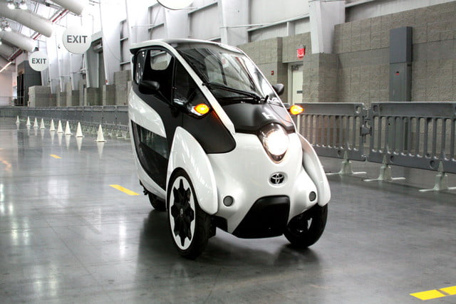 Toyota I Road Might Be The Perfect City Vehicle Digital Trends