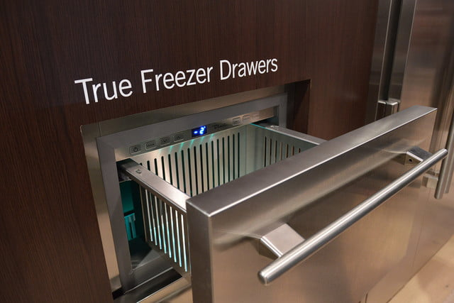 luxury home items from kbis 2016 true residential 24 inch undercounter freezers