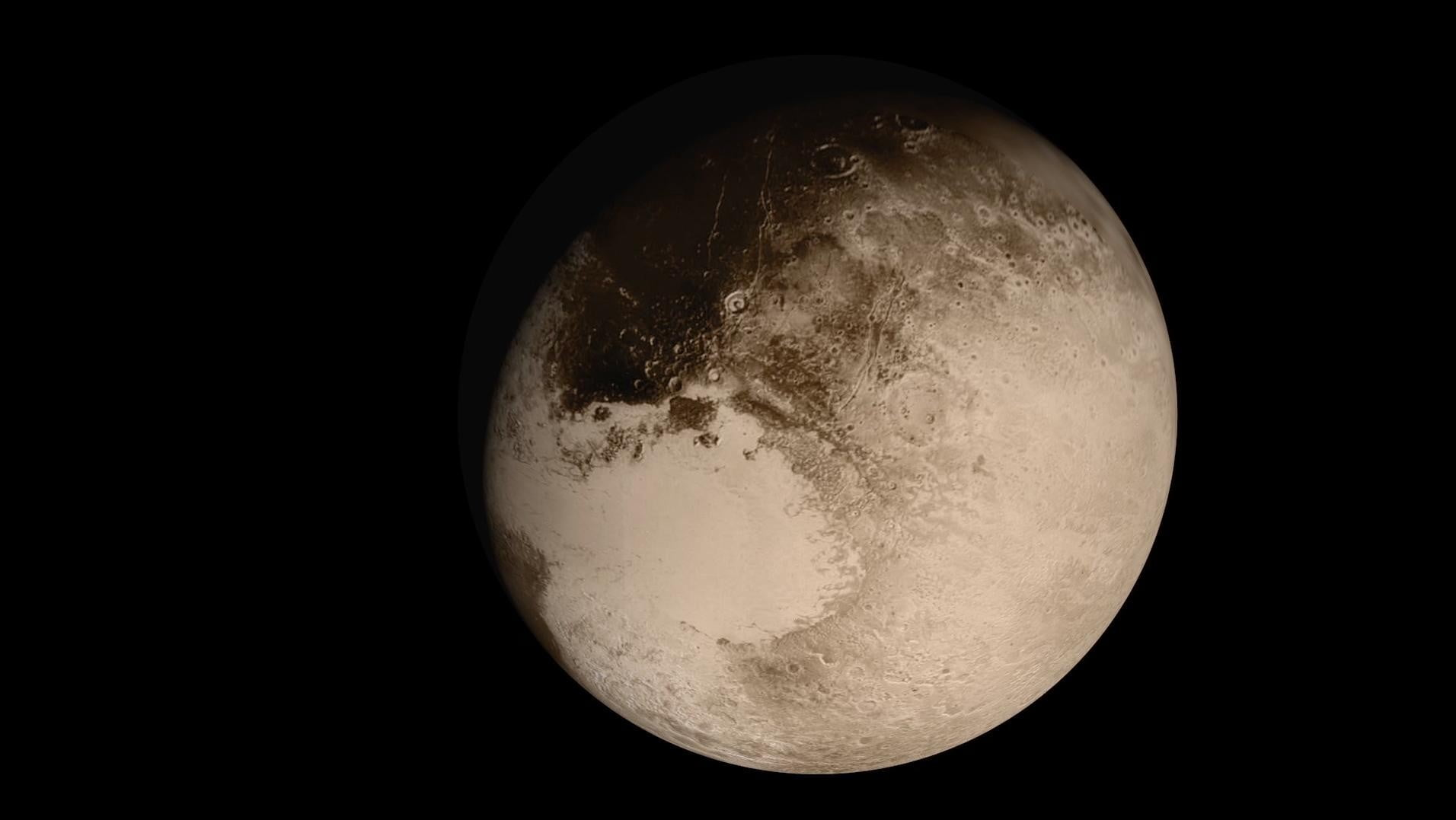 pluto planet real pictures - photo #20