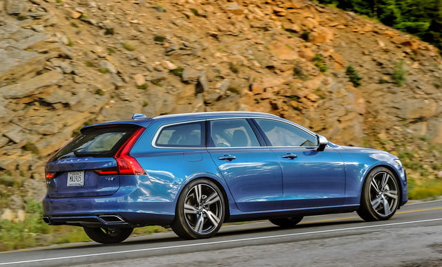 Best Wagons V90 T6r