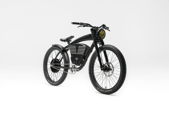 vintage electric scrambler s ebike black full 34