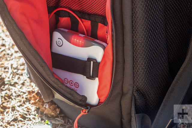 Voltaic OffGrid Solar backpack charger close