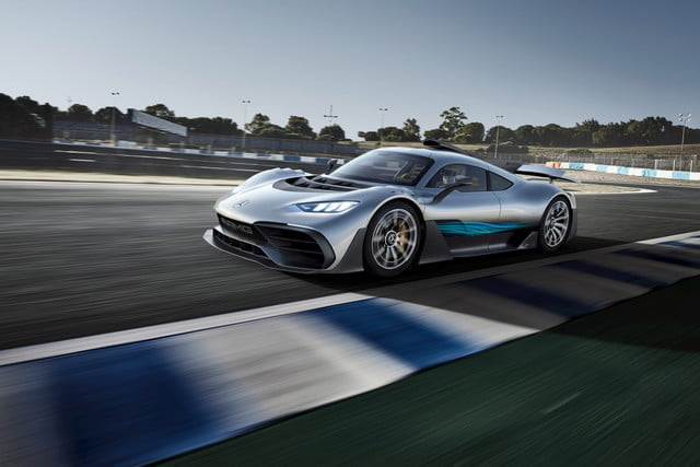 Mercedes Amg Project One Is A Hybrid Supercar With The Heart Of An