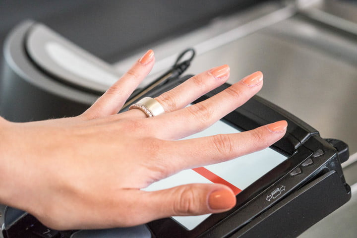 token smart ring for payments passwords