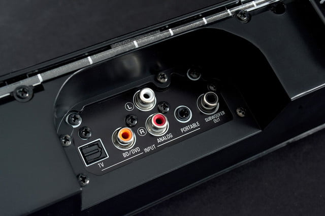 Yamaha YSP1400 back jacks