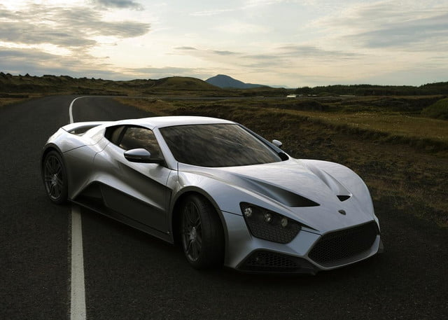 zenvo st1 might tried set top gear fire still awesome