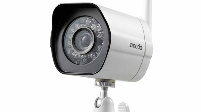 walmart arlo pro security camera bundle zmodo 720p hd wireless outdoor 4